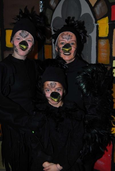 Raben (Cecile, Lilly und Ellen)